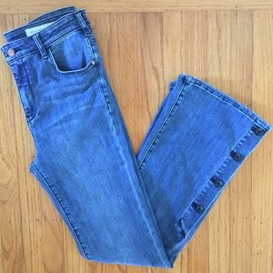Anthropologie Pilcro Letterpress Denim Jeans 29